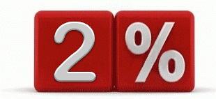 Скидка на ремонт вторичного жилья 2%