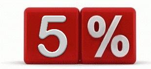 Скидка на ремонт 5%