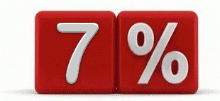 Скидки в зависимости от объема работ до 7%