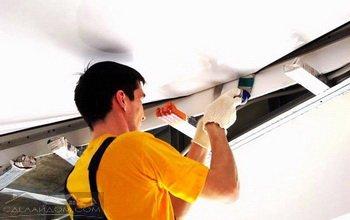 ремонт квартир, отделка потолков